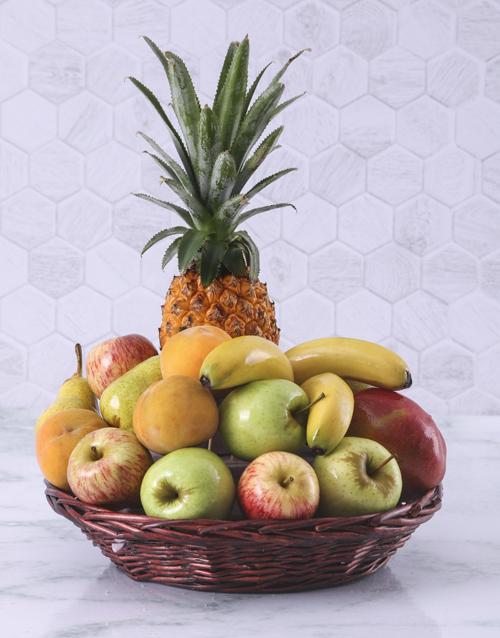gourmet: Fruit Gift Basket!