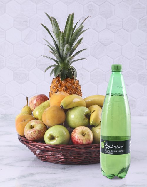 fresh-fruit: Fruity Basket with Appletizer!