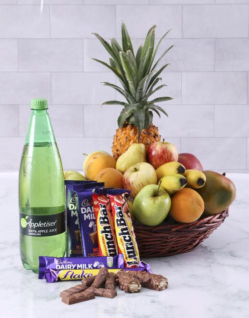 fresh-fruit: Saint and Sinner Basket!