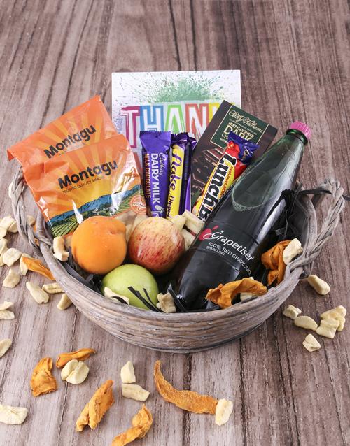 gourmet: The Sweet Fruit Basket!
