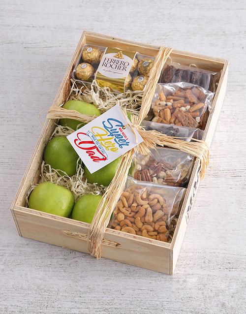 gourmet: Superhero Fruit Basket for Dad!