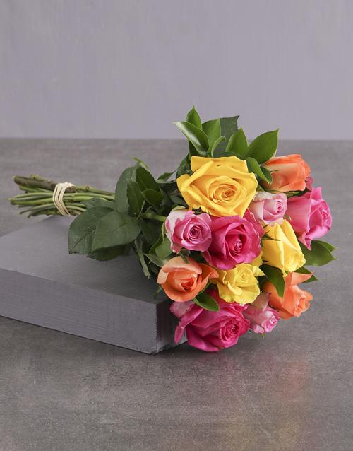 birthday: Rosey Revenge Bouquet!