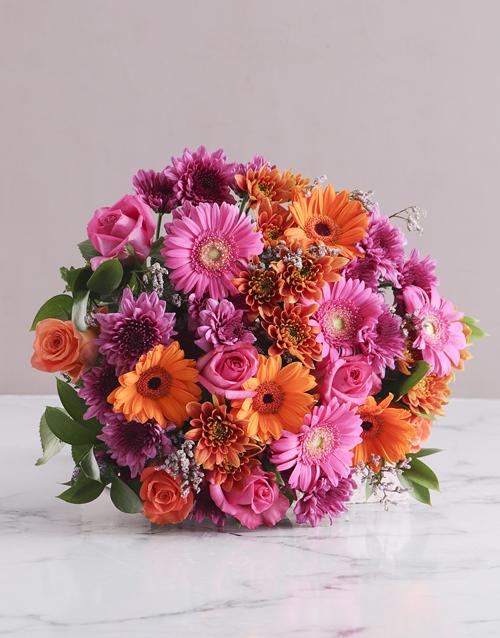 spring-day: Colour Burst Bouquet!