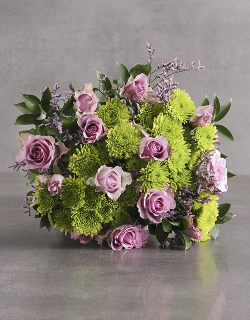 friendship: Light Purple Perfection Bouquet!