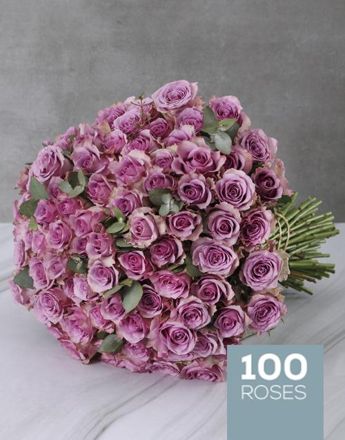 anniversary: Light Purple Rain Bouquet!