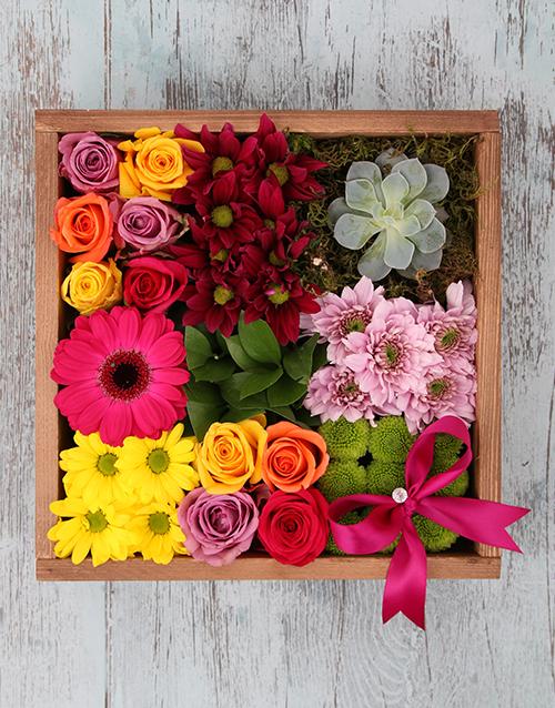 wooden-crates: Spring Garden!