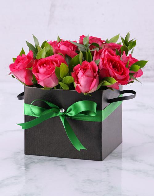 best-sellers: Beautiful Box of Cerise Roses!