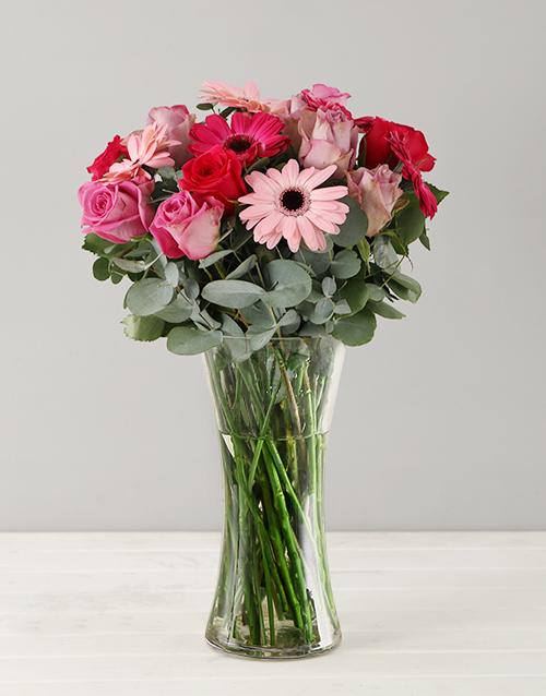 bosses-day: Cotton Candy Flower Arrangement!