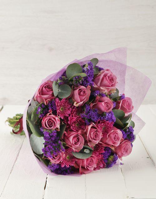 secretarys-day: Lavish Lilac Bouquet!
