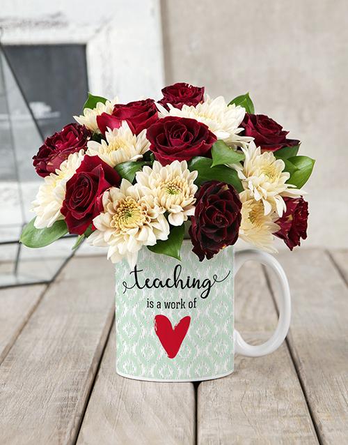 colour: Teaching Mug Arrangement!