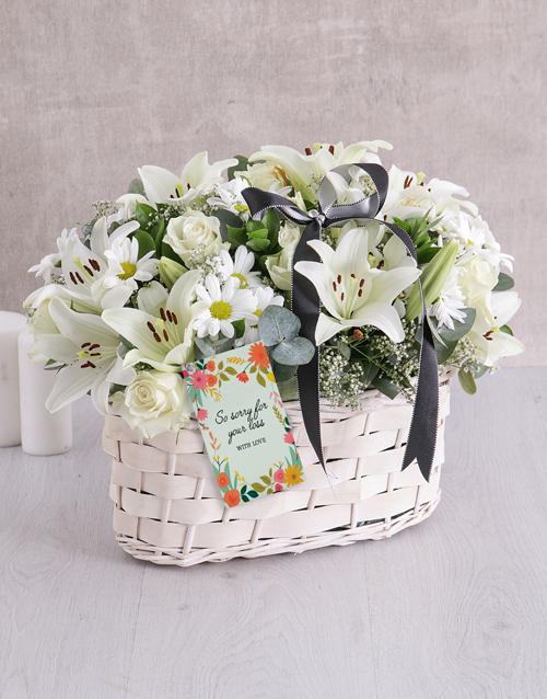 basket: White Sympathy Basket!