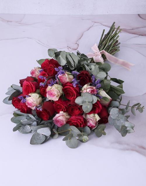 roses: Shades of Pinks Rose Arrangement!
