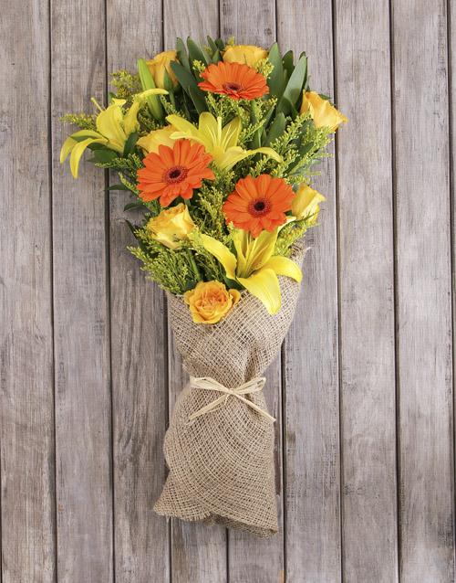 bouquets: Sunshine Mixed Flower Bouquet!