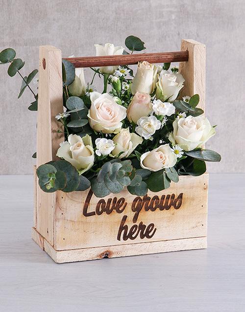 easter: Love Grows Mixed Flower Arrangement!