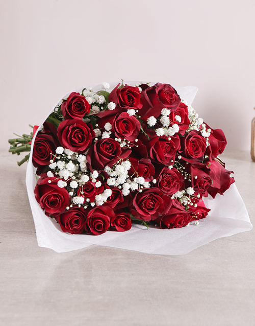 best-sellers: Red Rose Love Is Bouquet Original!