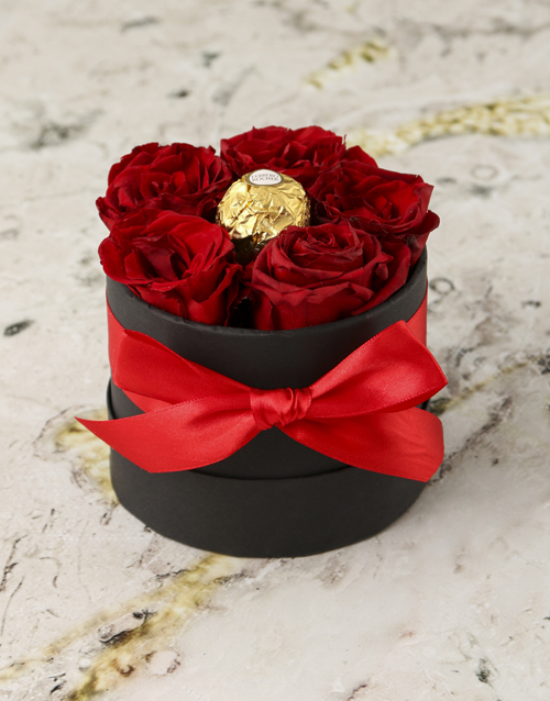 roses: Regal Roses With a Chocolate Surprise!
