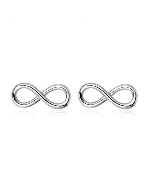 jewellery: Infinite Style Silver Studs!