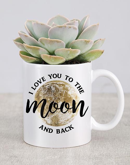 anniversary: I Love You To The Moon Mug!