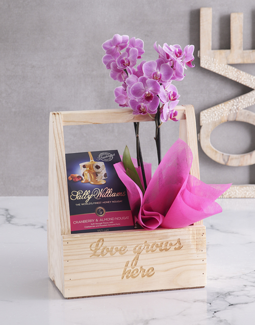 colour: Love Grows Here Orchid Crate!
