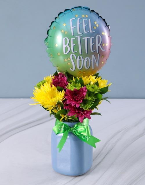 balloon: Mixed Sprays and Feel Better Balloon!