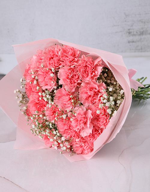 diwali: Precious Moments Pink Carnations!