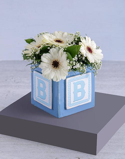 cyber-monday: Baby Boy Building Block Arrangement!