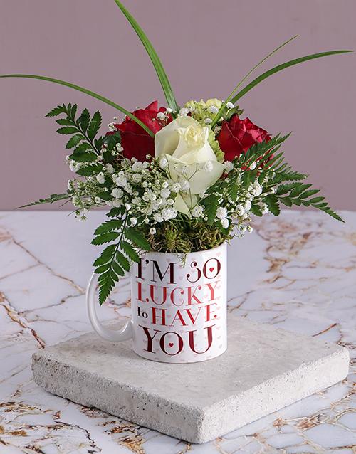 anniversary: Lucky Magic Rose Mug!