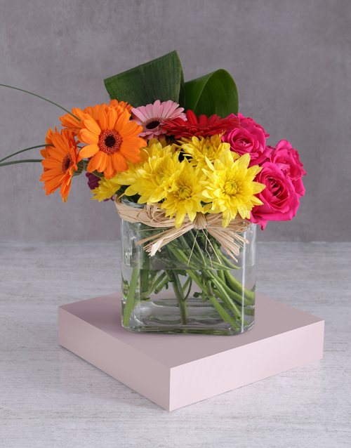 easter: Bright Spring Mixed Arrangement!