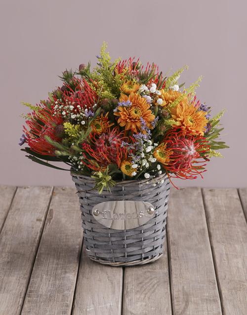 basket: Ethereal Floral Blooms!