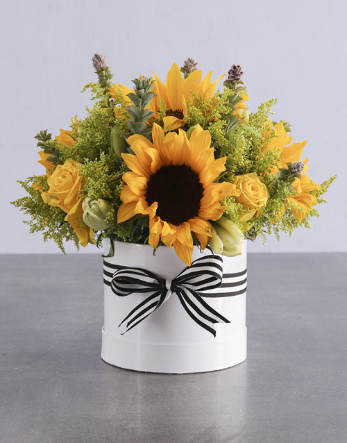 colour: Sunflower and Lily Box!