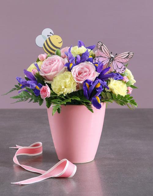 colour: Spring Garden in a Pot !