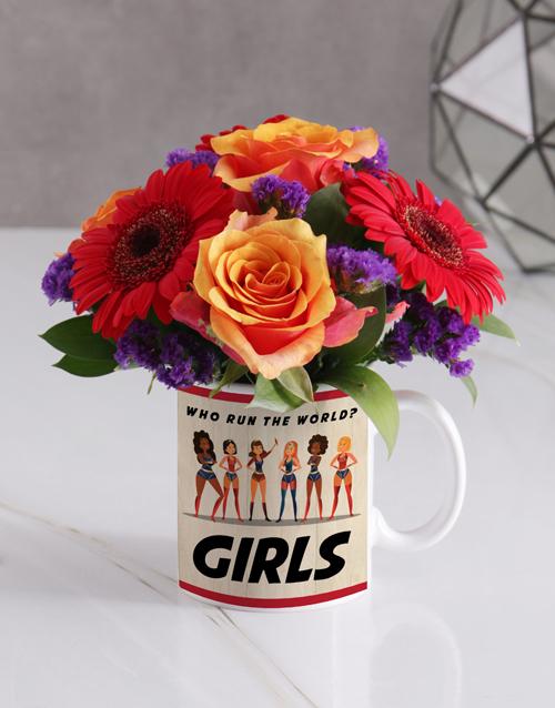 cyber-monday: Girls Rose Floral Mug!
