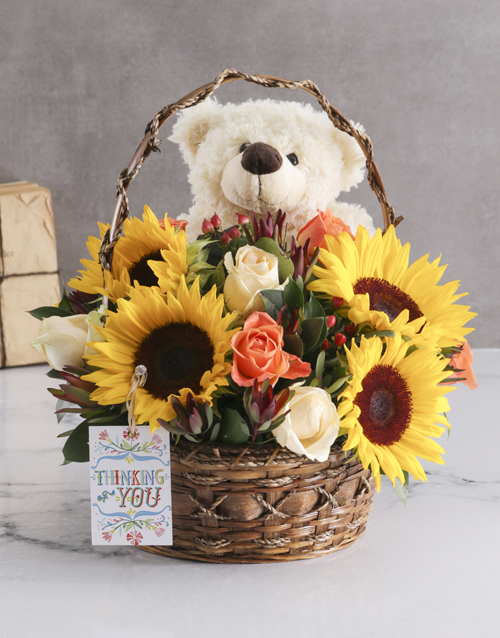 colour: Sunflower Basket!