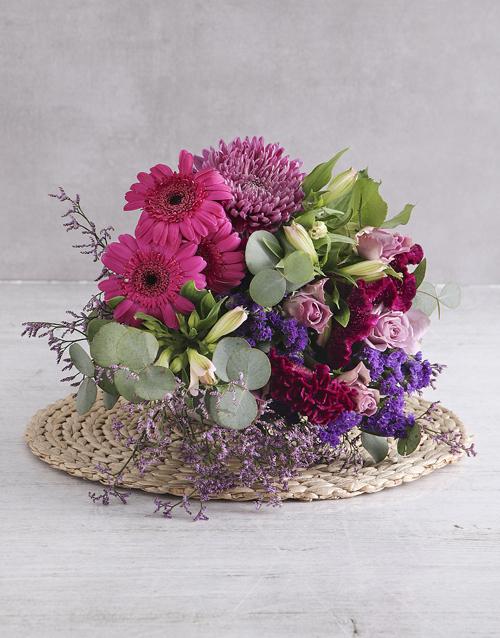 colour: Purple Variety Blossoms!