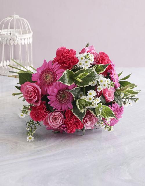 bosses-day: Pink Floral Sensations!