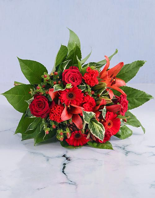 anniversary: Red Variety Bouquet!