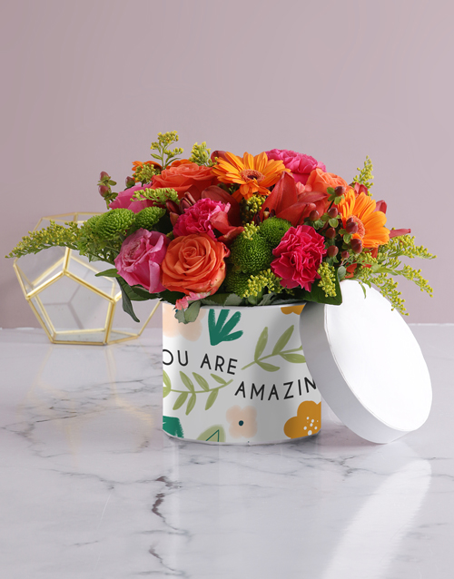 colour: You Are Amazing Floral Flair!