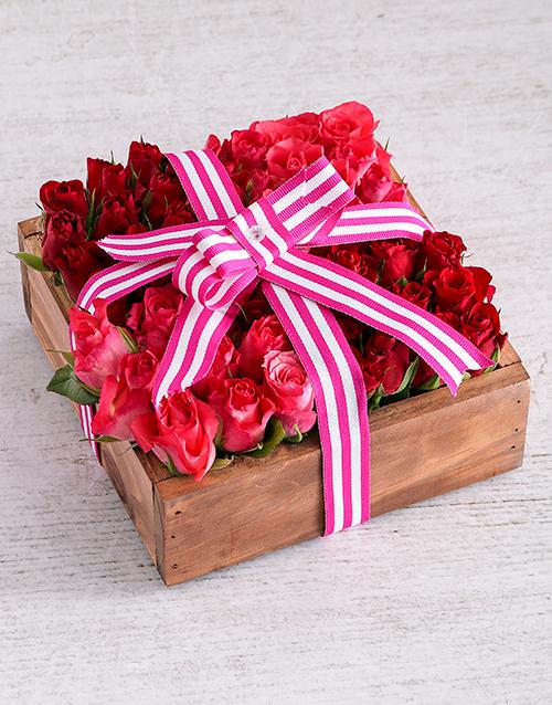 thank-you: Romantic Rose Arrangement!