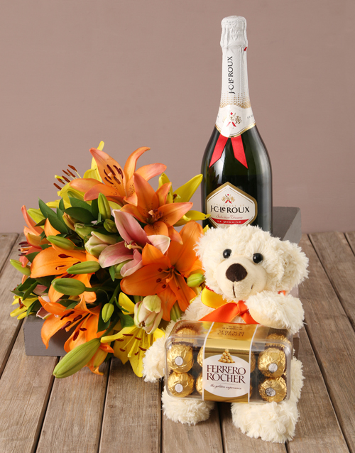 apology: Mixed Lily Hamper!