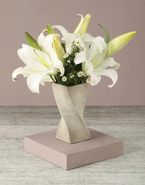colour: Lilies Of Luxury Arrangement!