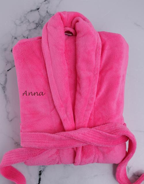 best-sellers: Personalised Pink Gown!