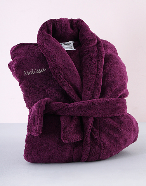 mothers-day: Personalised Purple Gown !