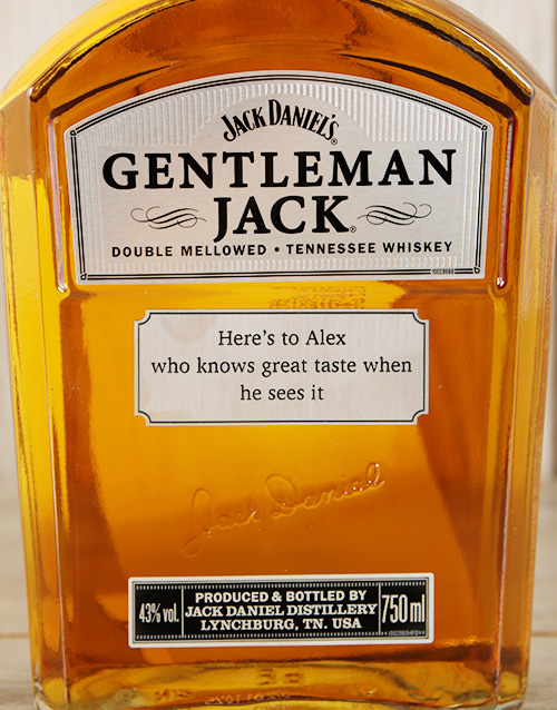 fathers-day: Personalised Gentleman Jack!
