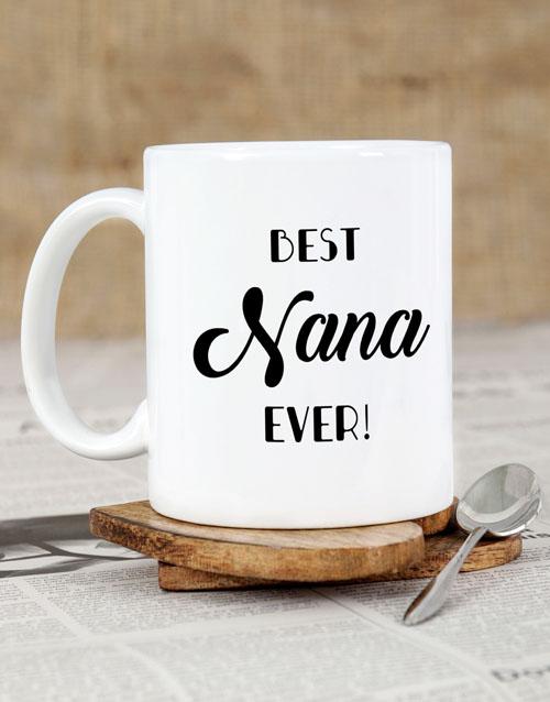 homeware: Personalised Best Nana Ever Mug!