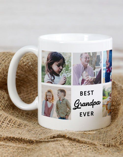 fathers-day: Personalised Best Grandpa Ever Mug!