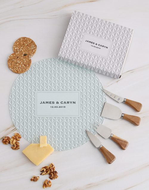 homeware: Personalised Textured Cheese Knives!