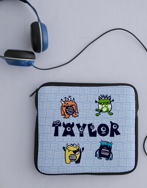 personalised: Personalised Monster Tablet Cover!