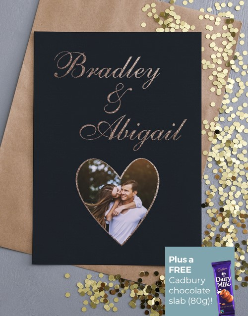 love-and-romance: Personalised Romantic Photo Greeting Card!