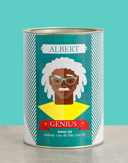 christmas: Personalised Genius Bro Bucket!