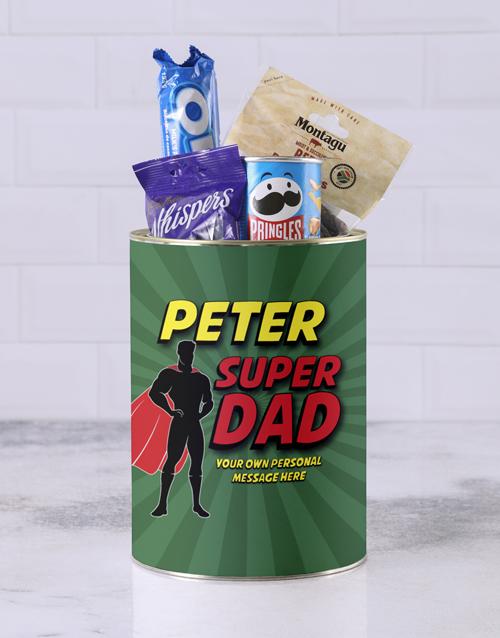 fathers-day: Personalised Superhero Father Bro Bucket!